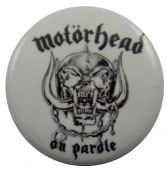 Motorhead - 'On Parade' Button Badge